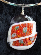 Murrini Glass Pendant