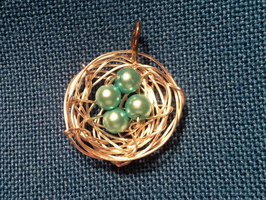 Classic Birds Nest Pendant