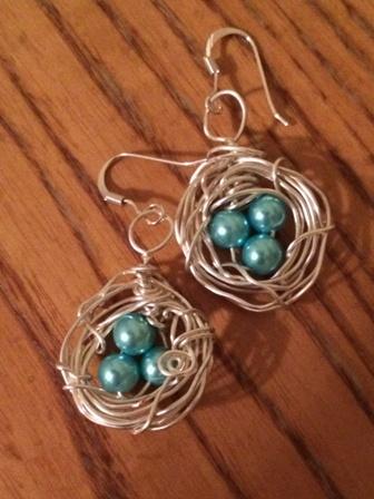 Classic Bird's Nest Earrings