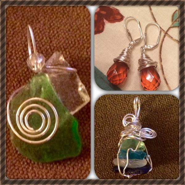 Collage of Earrings II