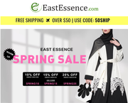 Spring Sale 25 percent OFF at EastEssence