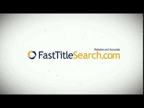 Fast Florida Property Title Search