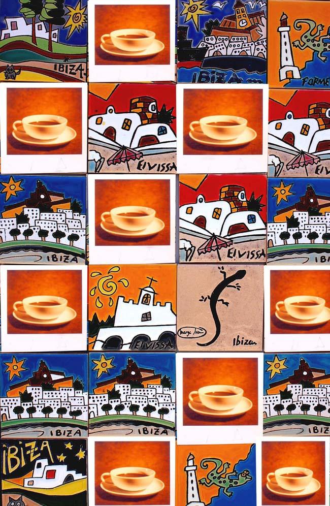 un caffè a Ibiza