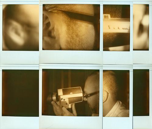 8mm love (8 Polaroids) collage