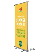 Scrolling Banner Stands For Branding At Any Events | California
