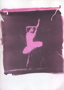 Ominocoibaffi_Ballerina 3_LIFT OFF Impossible 600 black & red_Polaroid 690