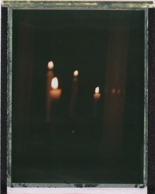 Spreading light being the candles or the mirror