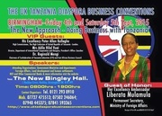 The UK Tanzania Diaspora Business Convention Sept. 2015.