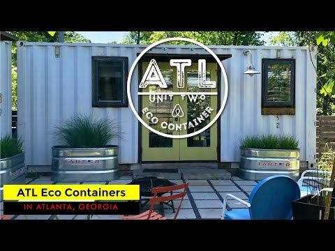 ATL Eco Container: Tiny Shipping Container Airbnb in Atlanta