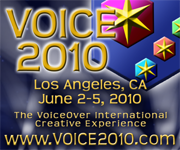 The VoiceOver International Creative Experience. VOICE 2010!