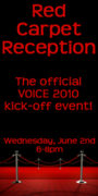 The VOICE 2010 Red Carpet Reception!