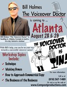 Compost Productions Atlanta Voiceover Workshop Aug. 28th & 29th