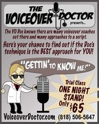 """Voiceover Doctor """"Getting to know Me!"""" Workout Class!"""