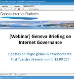 Webinar briefing: Internet governance in June 2015
