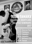 TODD TANAKA WEST COAST SEMINARS 2017