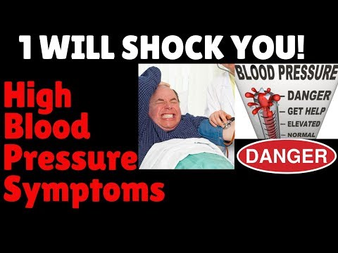 High Blood Pressure Symptoms | SHOCKING! |The Most Common High Blood Pressure Symptom IS A SUPRISE!!