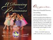 BALLET VIRGINIA INTERNATIONAL PRESENTS TWELVE DANCING PRINCESSES