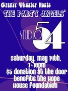 STUDIO 54 PARTY FEATURING DJ ANDY KIM TO BENEFIT HOPE HOUSE
