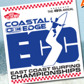 East Coast Surfing Championships 2011 - DAILY SCHEDULE - MONDAY - FRIDAY