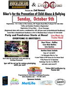 2nd Annual Bikers for the Prevention of Child Abuse & Bullying