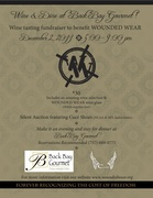 Wounded Wear Wine Tasting @ Back Bay Gourmet
