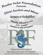 RUDEE INLET FOUNDATION Silent Auction & Mixer!