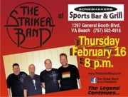 VBNIGHTLIFE NIGHT WITH THE STRIKER BAND AT BONESHAKERS