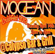CrushFest '13 at Calypso with MOCEAN