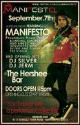 DJ Manifesto at Hershee Bar