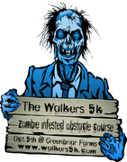 Zombie Infested 5K + Obstacle Course Sold Out.+ After Party only $5 for 5 bands!