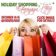 Discount Coupon for Holiday Shopping Extravaganza at the Convention Center