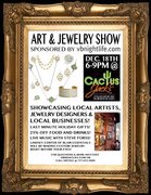 Art & Jewelry Show + Book Signing with 2 Local Authors - featuring On-Site Jewelry Making - Local's Night at Cactus Jack