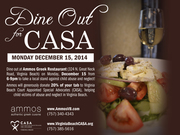 DINE OUT FOR CASA