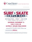 SURF AND SKATE SAMPLE SALE AT CAPE HENRY COLLEGIATE
