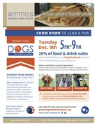 DINE OUT FOR DOGS ON DEPLOYMENT AT AMMOS AUTHENTIC GREEK