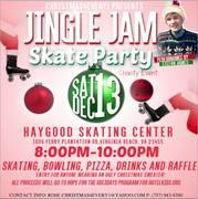 FAMILY FUN! JINGLE JAM SKATE PARTY AT HAYGOOD SKATING CENTER