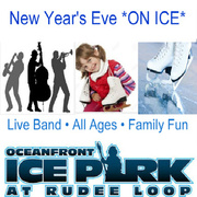 EXCLUSIVE VBHOTDEALS DISCOUNT TO NEW YEAR'S EVE AT THE OCEANFRONT ICE PARK - ALL AGES EVENT