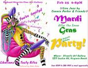 POSTPONED TO FEB 25 • MARDI GRAS CELEBRATION IN HONOR OF RICHARD STRAVITZ  BIRTHDAY PARTY