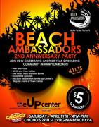 Beach Ambassadors Anniversary Party