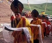 Pundarika Foundation Presents A Chariot Production BLESSINGS The Tsoknyi Nangchen Nuns of Tibet, narrated by Richard Gere