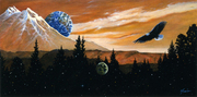 PAINTER EDWARD MORÉT EXHIBITS IN THE GRUBBS GALLERY WITH PROCEEDS GOING TO HAITI