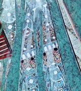 """June at Gallery A3 """"Espacios Interiores"""" Lourdes Morales and Tom Morton"""