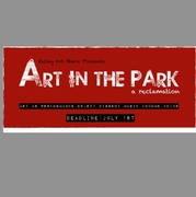 Art in the Park Deadline, Get in on it!