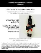 A Poetics of Resistance: reading & booksigning