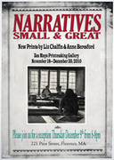 Narratives Small and Great: New Prints by Liz Chalfin and Anne Beresford