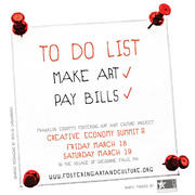 To Do List: Make Art, PAy Bills