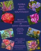 "Kathy Hibshman ""Flora: East Meets Southwest"""
