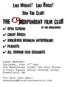 Codependent Film Club-First Meeting