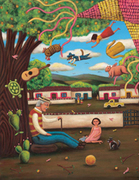 Latino Folk Tales: Cuentos Populares-Art by Latino Artists