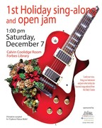 1st Holiday Sing-Along and Open Jam
